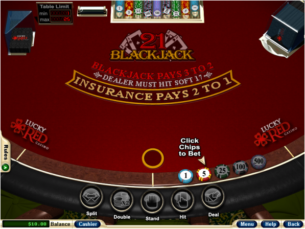 21 blackjack online real money